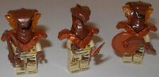 Lego Ninjago 3x Pyro Vipern! Schlangen Pyro Krieger mit Waffen