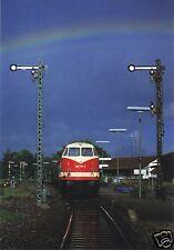 AK, Freudenstadt, Bahnhof, Nostalgiezug mit Diesellok 228 749-8 am 11.6.97