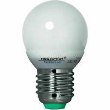 MEGAMAN MM05112i Noblesse Ping Pong Energiesparlampe 5W Warmweiß E27 Opal ESL