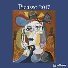 CALENDRIER 2017 - PICASSO - 30 x 30 cm
