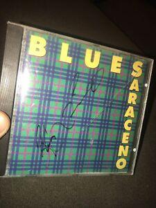 Blues Saraceno Plaid CD Signed Autograph Rare Cd 🔥