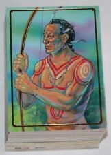 . Native Americans complete 90 card base set by Bon Air in 1995
