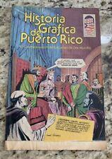 Puerto Rico. Comic. Historia Grafica De Puerto Rico. 2 Mundos. 1990.