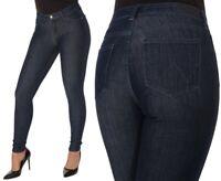 Wrangler Damen Jeanshose Body Bespoke Super Skinny Marineblau (Deep Sea) W26-W30