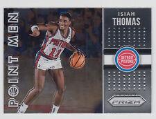 ISIAH THOMAS 2015-16 Panini Prizm Basketball Point Men #5 Pistons