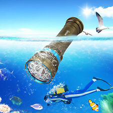 VastFire 18000LM 9x XM-L L2 LED Underwater 100m Diving Flashlight Torch lamp QV