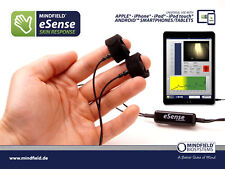 eSense Skin Response Bundle With More Electrodes | Biofeedback and Stress Relief