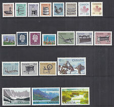 Canada 917-937 Full Definitive Set - 1982-1987 w/ 926A QEII, MNH Fresh*