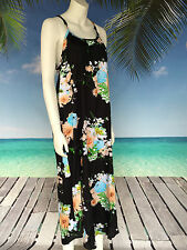 Rayon Floral Regular Size Maxi Dresses for Women