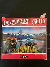 Puzzlebug Jigsaw Puzzle 500 piece 'Matterhorn, Switzerland' - used