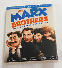 The Marx Brothers Silver Screen Collection Blu-Ray New Sealed Groucho Chico