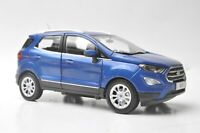 Ford Ecosport 2018 car model in scale 1:18 Blue