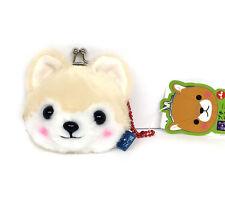 AMUSE Stuffed Animal Mameshiba San Kyodai Gamakuchi Coin Pouch (Sasuke) 23c61