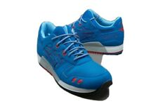 Asics Gel Lyte III Blue / Red size 8.5 Men excellent condition