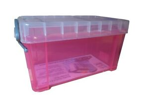 Really Useful 2.1 Litre Pink Storage Box
