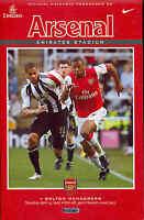Arsenal v Bolton Wanderers - Premiership - 14/4/2007 - Football Programme