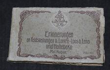 Postkarten Album Inf. Rgt. 106 LOIVRE - LOOS / LENS / HOLLEBEKE / 23 Karten