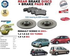 für Renault Scenic II 1.4 1.6 2.0 1.5 1.9 Bremsscheiben SET