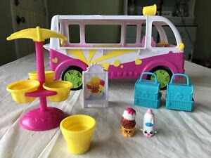Shopkins Food Fair Scoops Ice Cream Truck Season 3 Complete