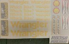 YAMAHA  31K LC2 350 YPVS  WRANGLER  PAINTWORK DECAL KIT