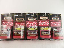 Matchbox Collectibles Coca-Cola Ford Vehicles  - Lot of 5 - New!