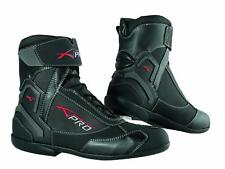 Winter Motorbike Motorcycle Breathable Waterproof Leather Boots A-pro Black 43
