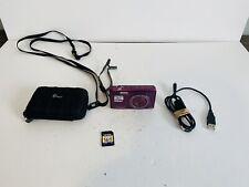 Nikon COOLPIX S5200 16.0MP Digital Camera - Plum W/ Case & 16GB Card