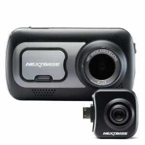 Nextbase 522GW Dash Cam w/BONUS Rear View Camera