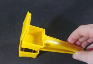 Vintage Yellow Tupperware Corn Butterer W/ Built-in Salt Shaker #1465