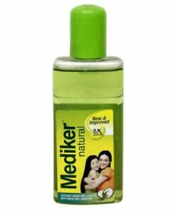 Mediker Anti Lice Coconut Oil With Neem Hair Treatment 25ml Fast Ship