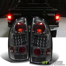 Smoke 2005-2015 Toyota Tacoma TRD Lumileds LED Tail Lights Brake Lamp Left+Right