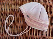 GIESSWEIN Austria PINK WOOL BABY CAP Hat ~Ties Under Chin~ 80 Girls 6 12 mo