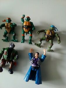Collection of Vintage Turtles Figures / Job Lot