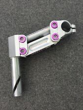 Softride Suspension Stem 1-Inch Quill 25.4 Clamp 130mm Reach Vintage Purple Ano
