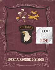 Cd File 101st Airborne Division Normandy Bastogne Paratroopers 40 Pages Pdf Ww2