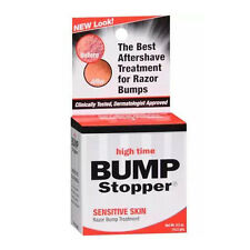 High Time Bump Stopper Sensitive Skin Razor Bump Skin Treatment Aftershave 0.5oz