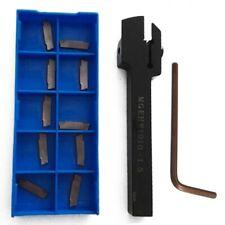 MGEHR1010-1.5 External Grooving Lathe Cutter Boring Bar + 10p MGMN150-G Inserts