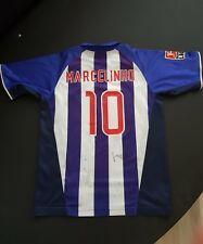 Jersey maillot maglia trikot camiseta hertha bsc Berlin autographed marcelinho