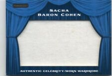 SACHA BARON COHEN 2010 RAZOR AUTHENTIC CELEBRITY-WORN WARDROBE MEMORABILIA CARD