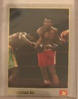 MUHAMMAD ALI  Boxing 1991 AW Sports Card #69 *GOLD STAMPED*
