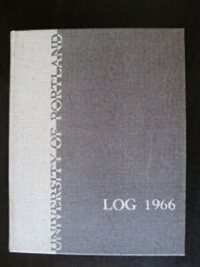 1966 University of Portland Yearbook ~ Portland Oregon ~ The Log ~