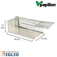 Papillon Trappole a Galleria per Topi 30cm 5x30x12h