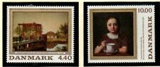 Denmark Sc 881-882 1989 Paintings stamp set mint NH