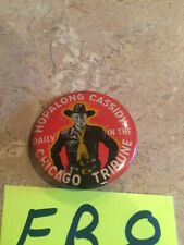 Hopalong Cassidy Daily In The Chicago Tribune Pin