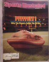 NFL FOOTBALL STRIKE PFFFFFFT ! 1982 Sports Illustrated
