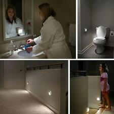 LED Motion Sensor Automatic Toilet Night Light Bowl Bathroom Decor Wall Lamp