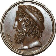 O5208 Rare Médaille Ecole de Médecine Paris Asclépios Baron Desnoyers SPL