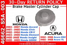 Genuine OEM Honda Acura Brake Master Cylinder Cap     46662-S5A-003