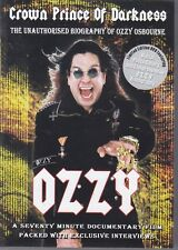 OZZY OSBOURNE - crowa prince of darkness DVD