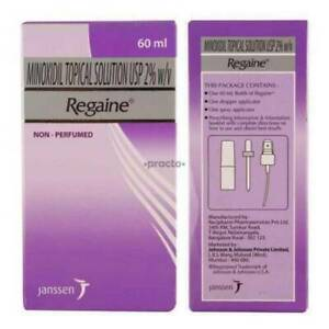 Regaine Regular Strength 60ml Minoxidil 2% Scalp Solution Hair Loss